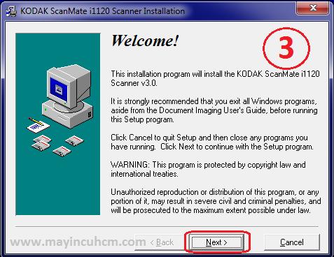 cài máy scan kodak i1120