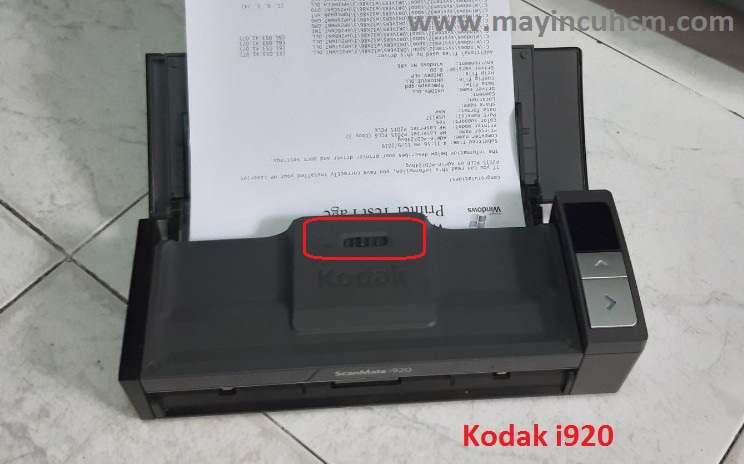 lỗi máy scan cuốn giấy nhiều tờ