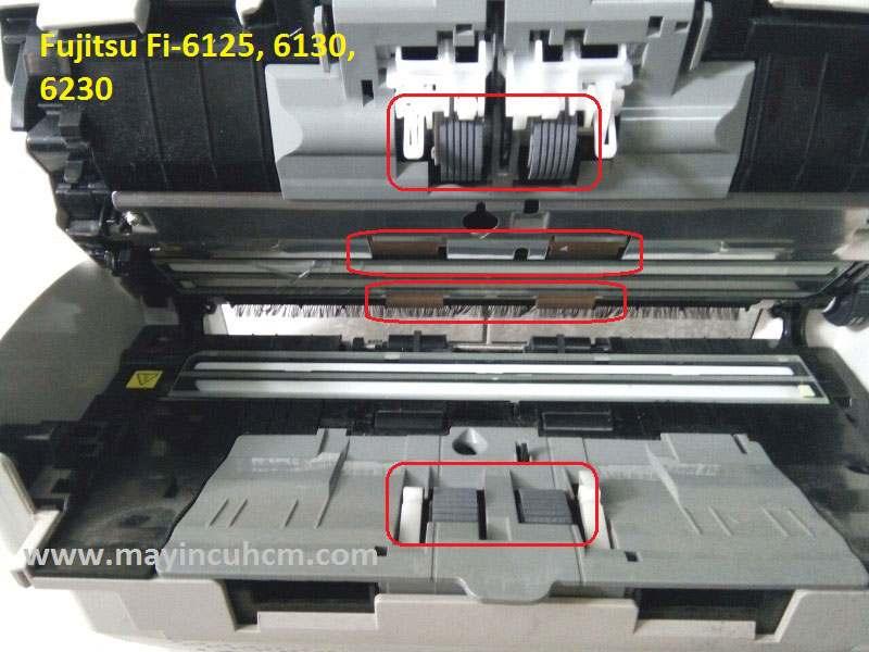 lỗi máy scan cuốn giấy
