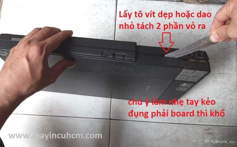 Vệ sinh máy scan epson v33