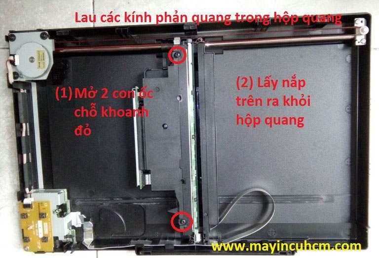 Vệ sinh máy scan epson v330