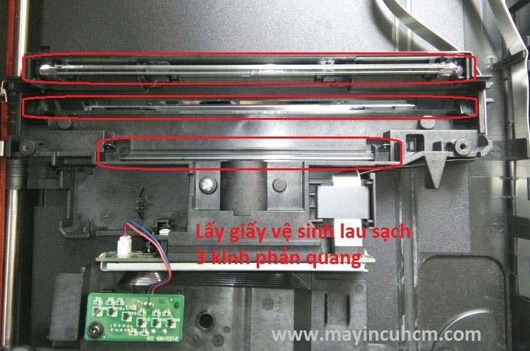 Vệ sinh máy scan epson v370