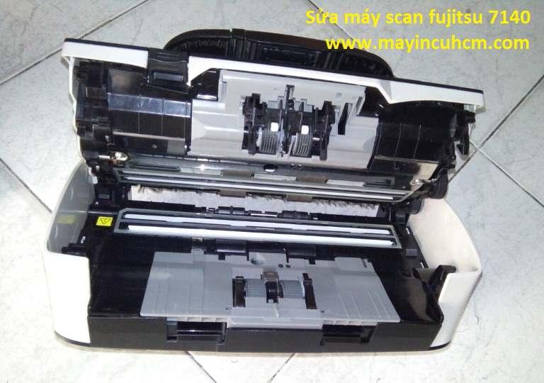 Sửa máy scan fujitsu FI-7140, 7160, 7180, 7240, 7260