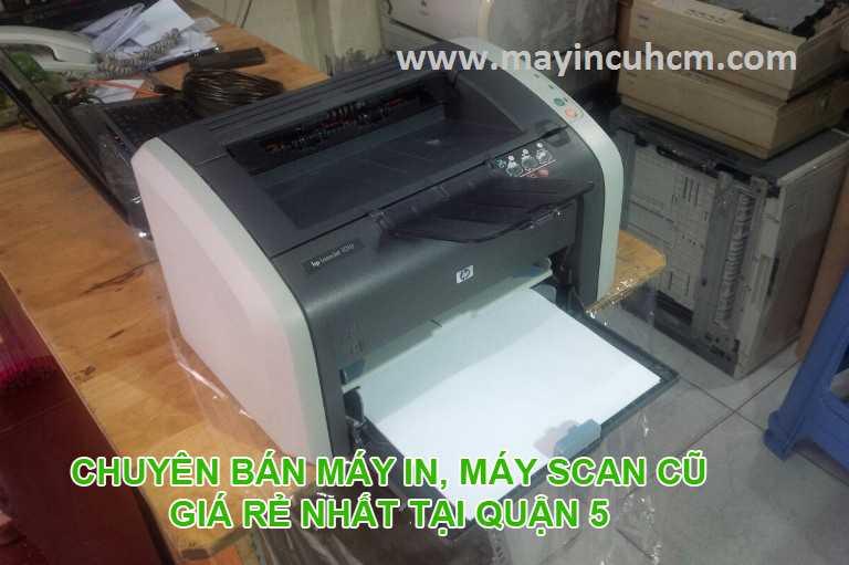 Bán máy in cũ, máy scan cũ giá rẻ tại Quận 5