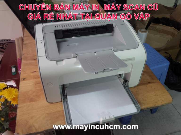 Bán máy in cũ, máy scan cũ giá rẻ tại Quận Gò Vấp