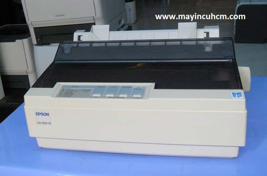 Máy in kim Epson Lq 300+II cũ