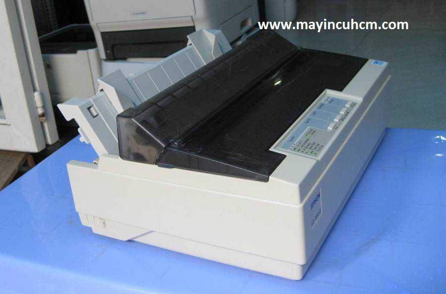 Cách chỉnh Epson 300+II in giấy đục lỗ dừng đúng khớp xé giấy