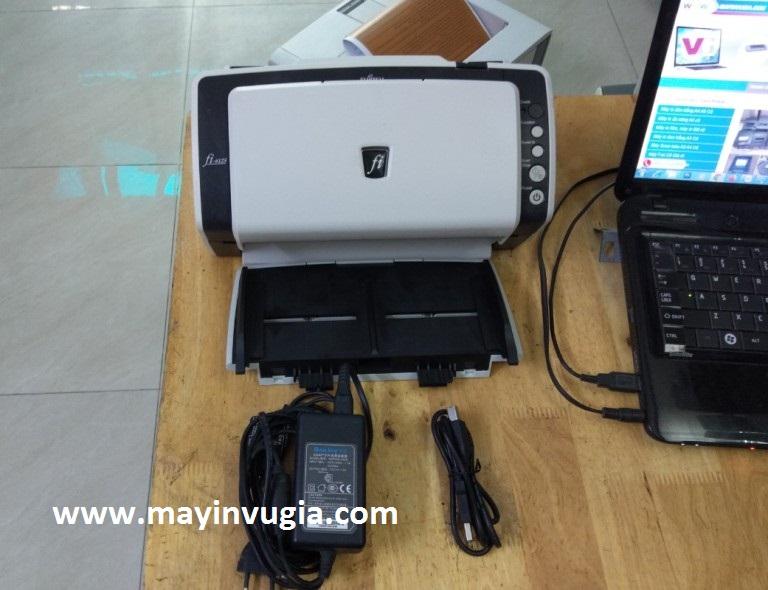 Hướng dẫn cài đặt & sử dụng máy Scan Fujitsu Fi-6125, 6130