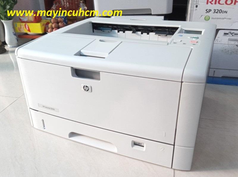 Máy in A3 Hp laser 5200 Lan