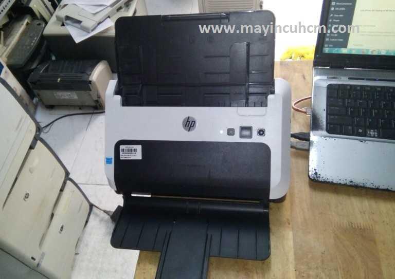 Cài đặt phần mềm driver máy scan Hp Scanjet Pro 3000 s2