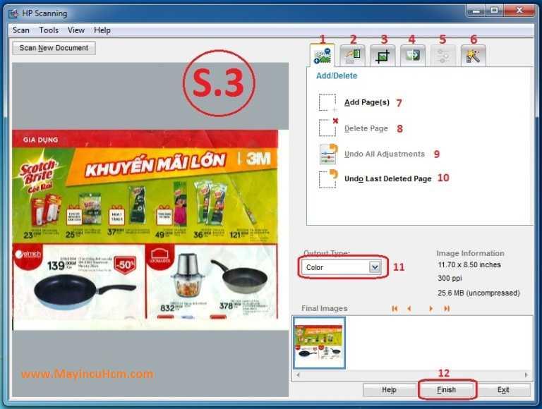 Hướng dẫn sử dụng phần mềm Scan Hp G3010, 3110, 4010, 4050