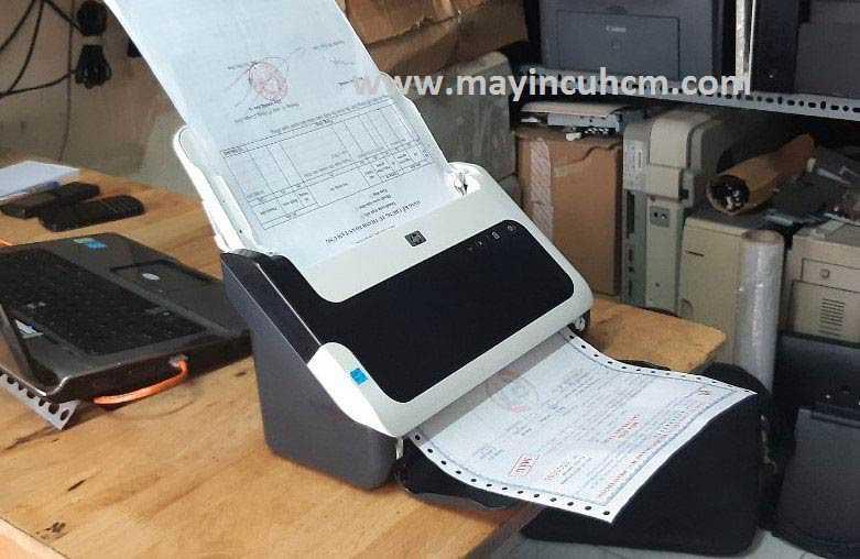 Lỗi cuốn giấy của máy Scan tự chạy 2 mặt, cách xử lý