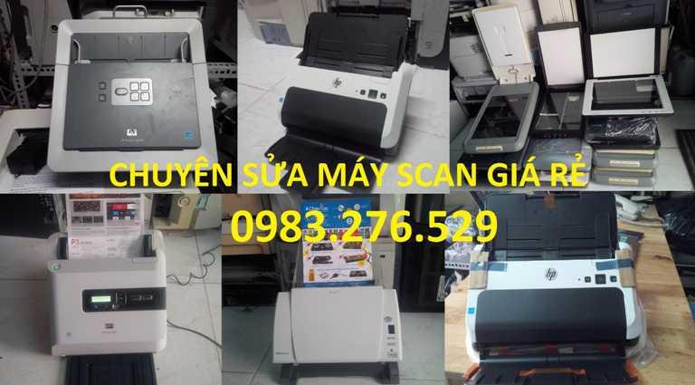 Chuyên sửa máy Scan, sửa máy quét ảnh tại TpHCM 0937.532.856