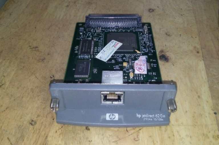 Card mạng Lan Hp laser 5200, 5100 cũ