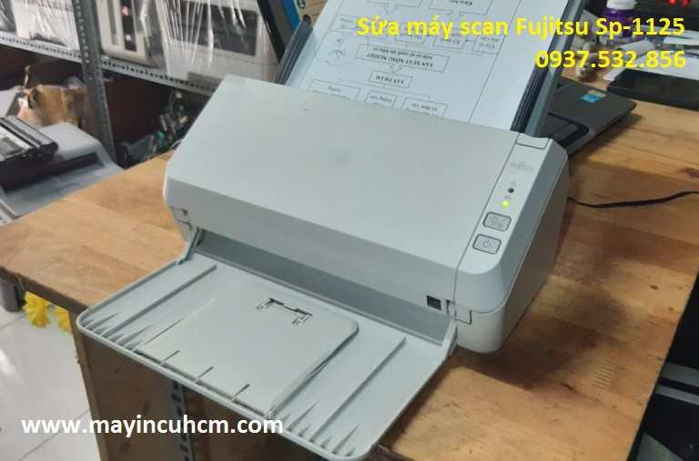 Chuyên sửa máy scan Fujitsu Sp-1125 tại TpHCM