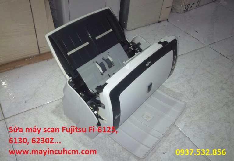 Chuyên sửa máy scan Fujitsu FI-6125, 6130, 6140, 6230z giá rẻ chuyên nghiệp