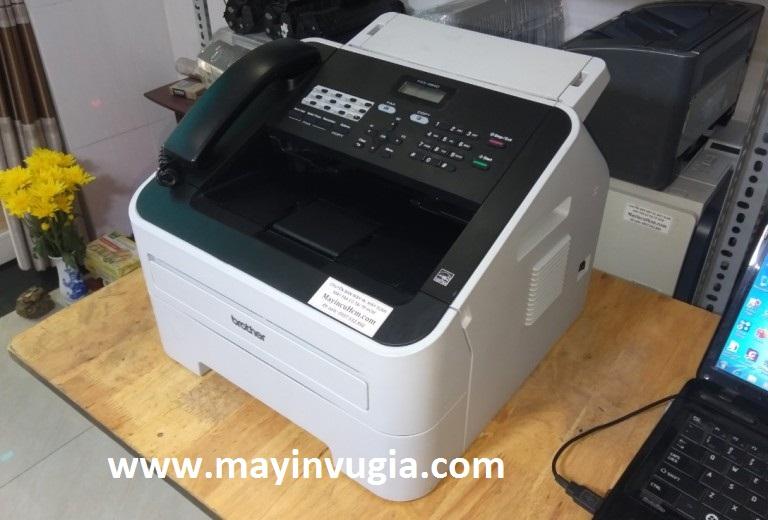 Hướng dẫn lắp đặt, cài đặt, sử dụng máy in Brother fax 2840
