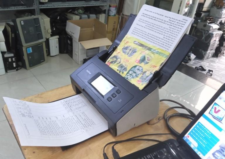 Cài đặt wifi máy scan Brother ADS-2600W cho điện thoại & PC