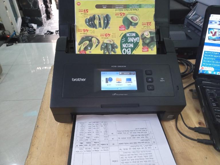 Lỗi cuốn nhiều tờ cùng lúc ở máy scan tự chạy 2 mặt