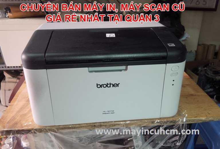 Bán máy in cũ, máy scan cũ giá rẻ tại Quận 3