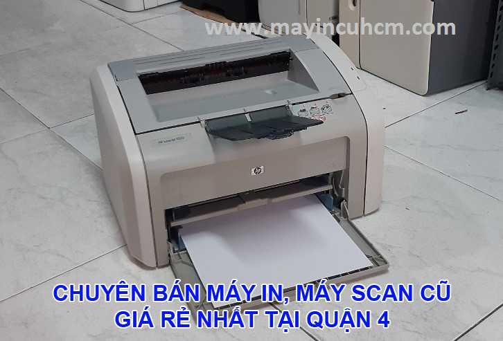 Bán máy in cũ, máy scan cũ giá rẻ tại Quận 4