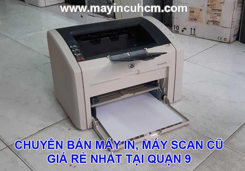 Bán máy in cũ, máy scan cũ giá rẻ tại Quận 9