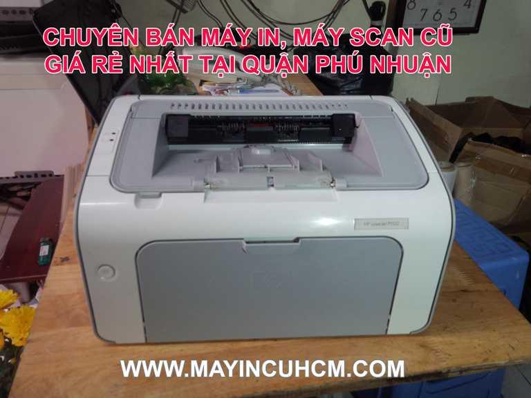 Bán máy in cũ, máy scan cũ giá rẻ tại Quận Phú Nhuận