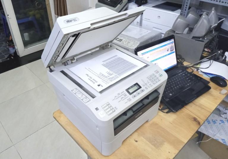 Hướng dẫn cài đặt và sử dụng máy in Brother MFC 7360