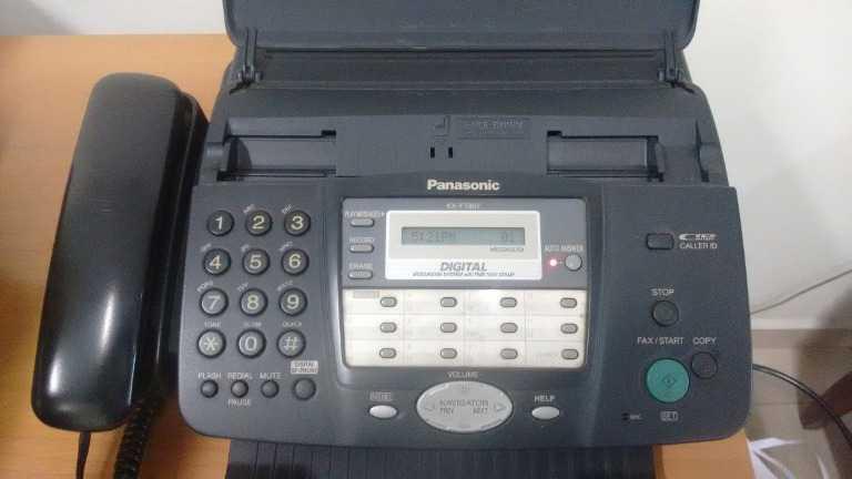 Hướng dẫn sử dụng máy fax Panasonic KX-FT 907