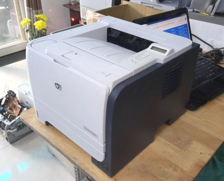 Máy in Hp laser P2055dn cũ