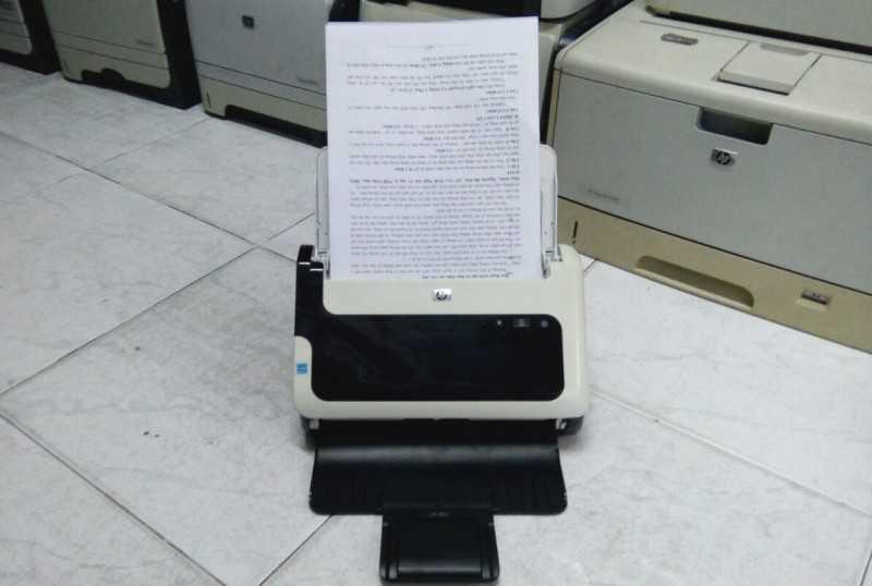 Hướng dẫn sử dụng phần mềm máy Hp Scanjet 3000