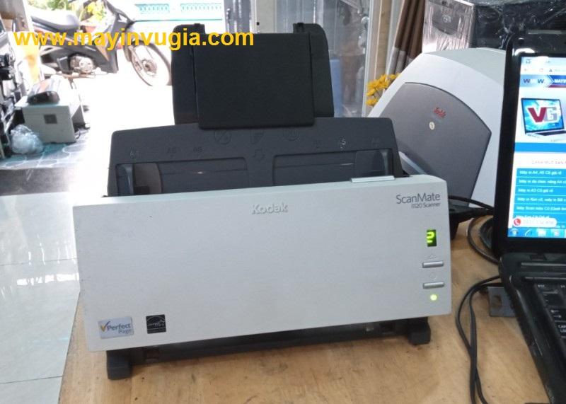 Hướng dẫn cài và sử dụng máy Scan Kodak i1120