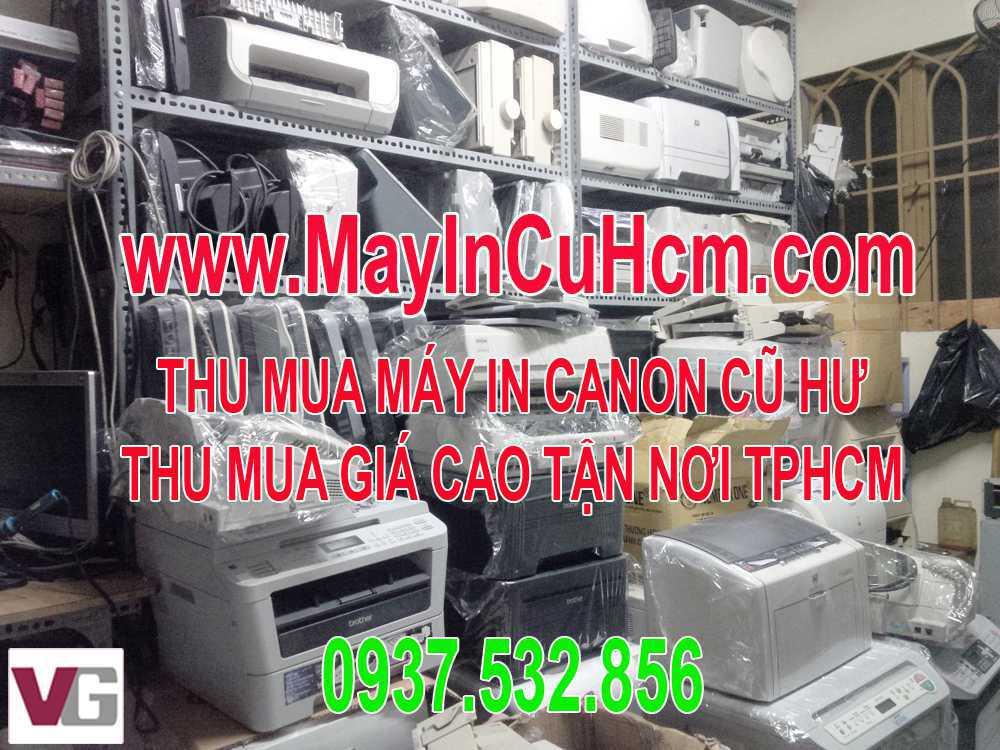 Thu mua máy in Canon A3 A4 cũ hư  tận nơi HCM 0937.532.856