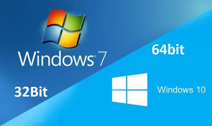 Cách kiểm tra máy tính dùng Windows gì và 32bit, 64bit