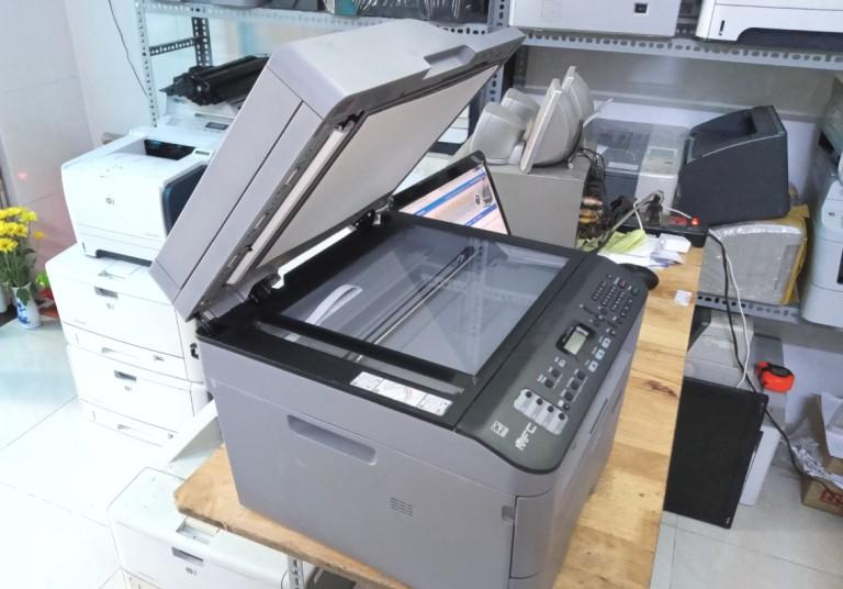 Cài đặt và sử dụng máy in Brother mfc L2701d, 2701dw cài Usb và Wifi