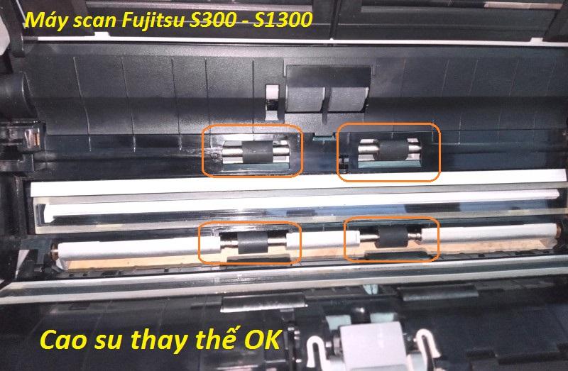 Cao su cuốn giấy Fujitsu S300, S1300